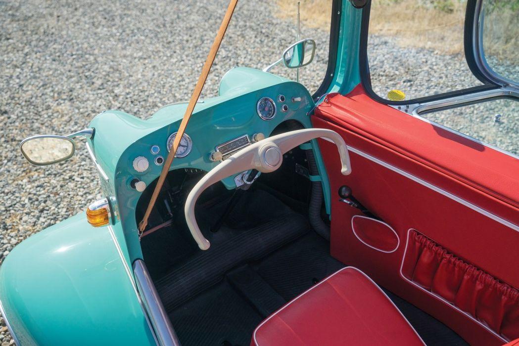 Messerschmitt KR200 1952 cars classic blue wallpaper