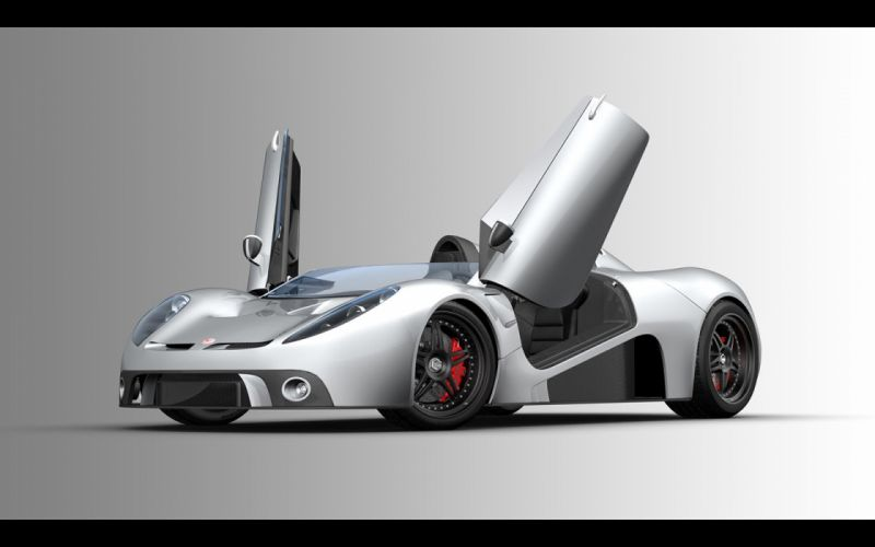 2008 Scuderia Bizzarrini p538 Barchetta Prototype cars concept wallpaper