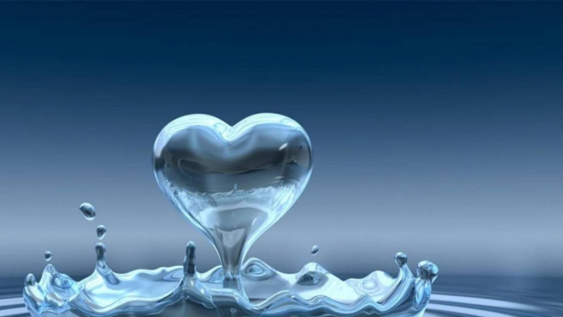 Water heart wallpaper   1920x1080   694664   WallpaperUP