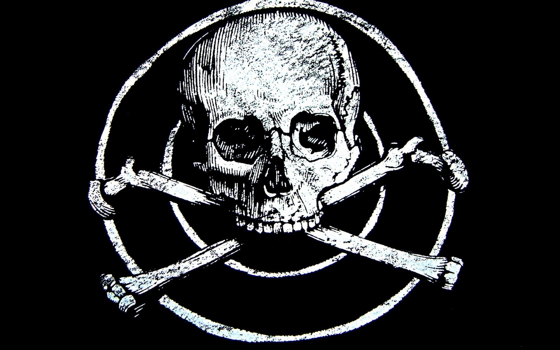 Dark skull evil horror...