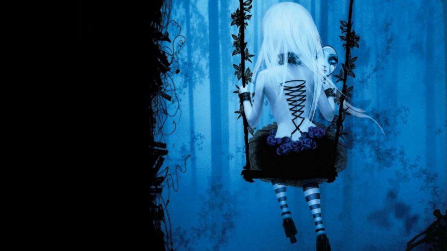 dark gothic art artwork creepy spooky f wallpaper