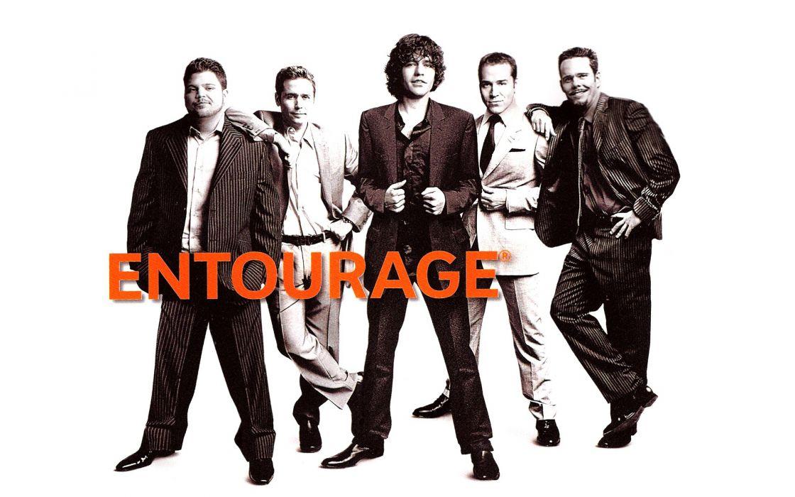 ENTOURAGE hbo comedy drama series wallpaper