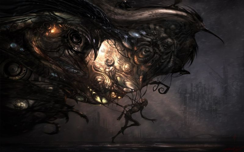 dark gothic art artwork fantasy d wallpaper