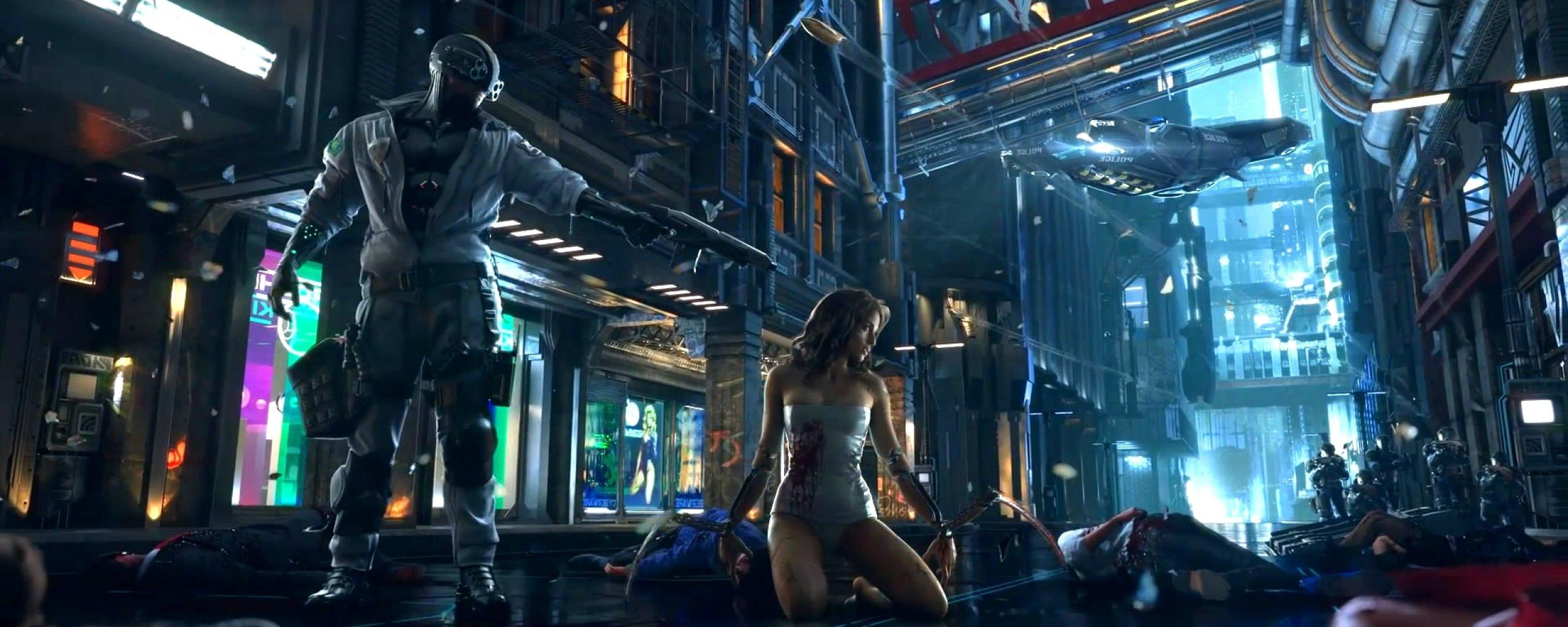 wallpaper cyberpunk metropolis robots - photo #9