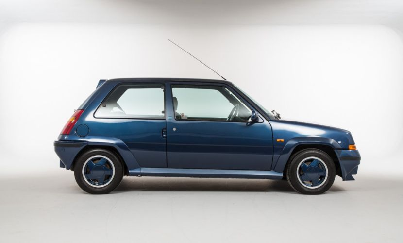 Renault-5 GT Turbo UK-spec 1986 cars french wallpaper