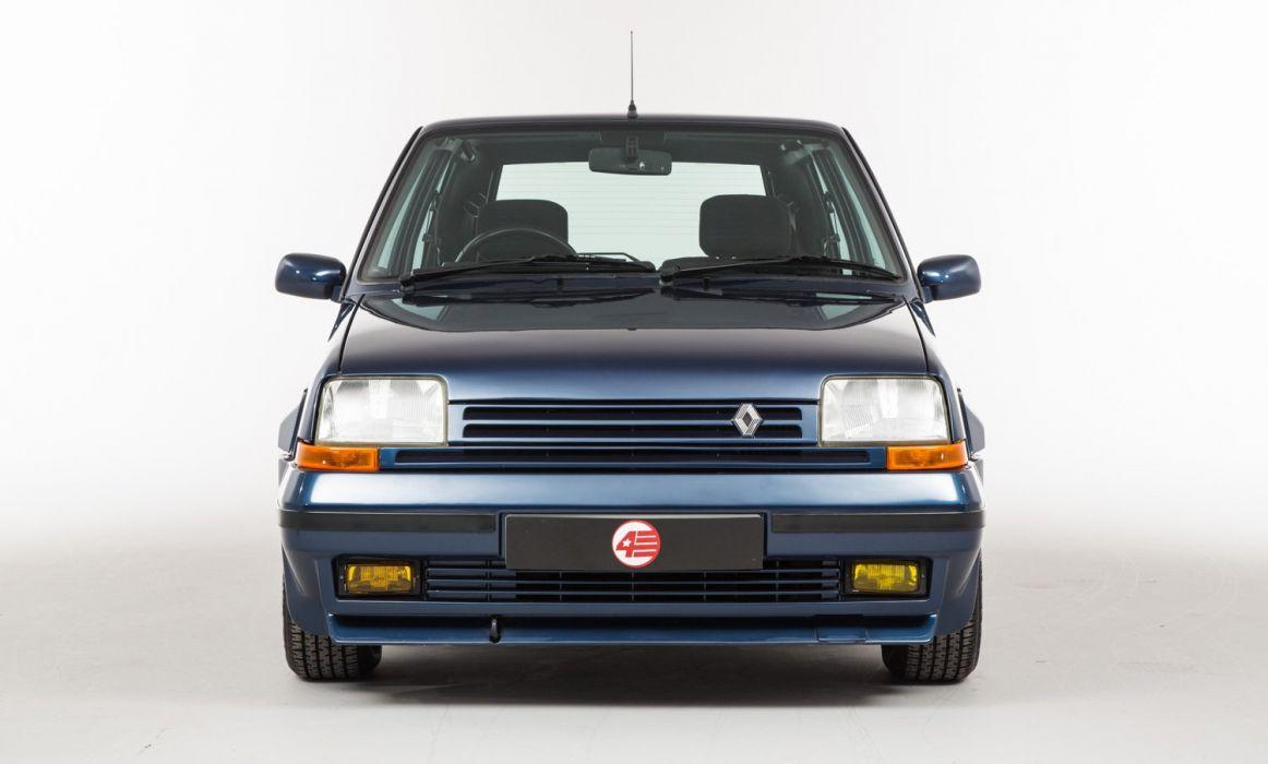 Renault-5 GT Turbo UK-spec 1986 cars french wallpaper