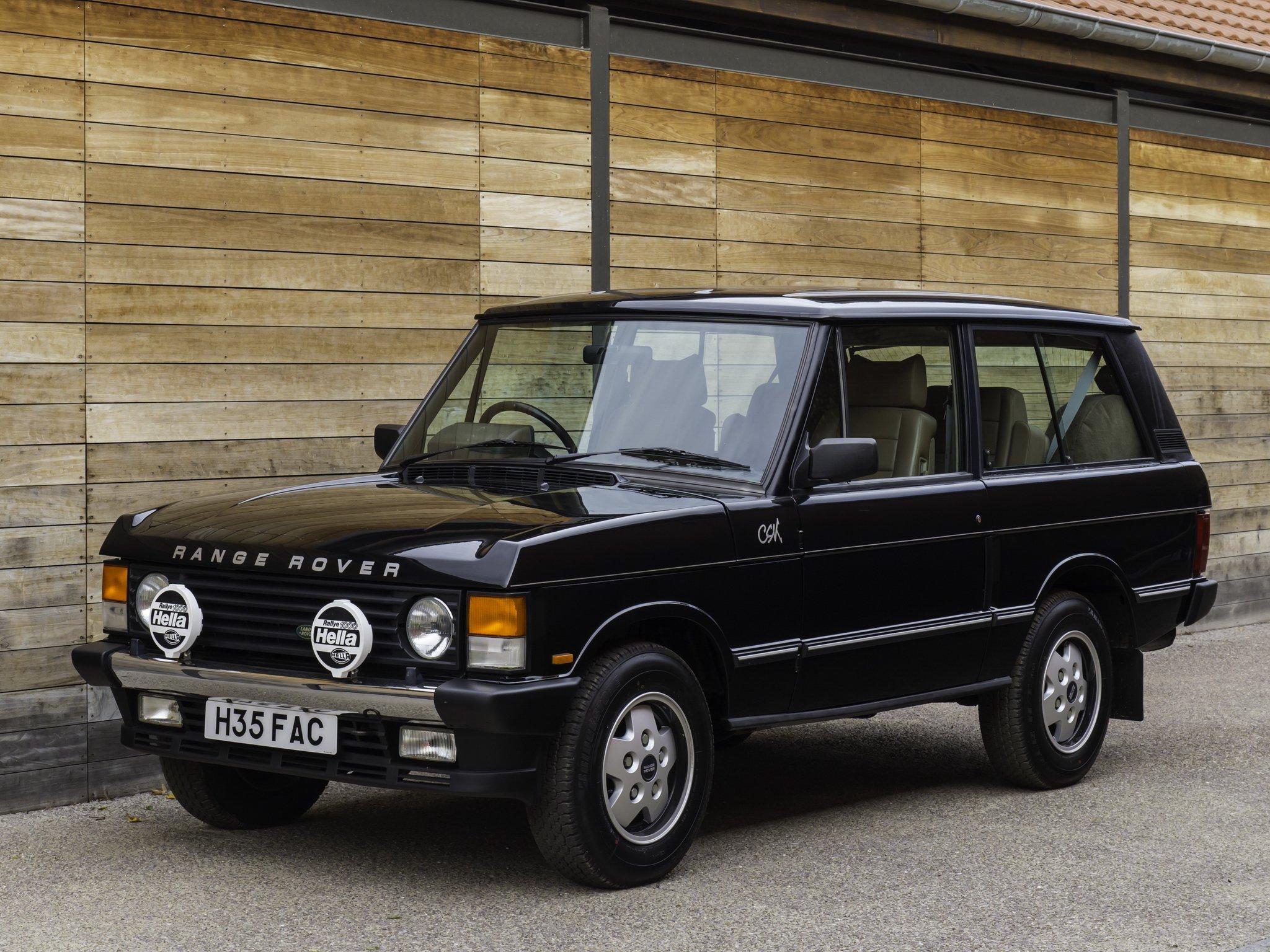 Old School Range Rover
