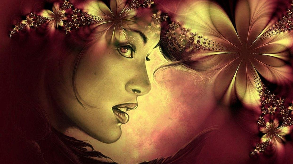 artistic art artwork women woman girl girls female fantasy d wallpaper