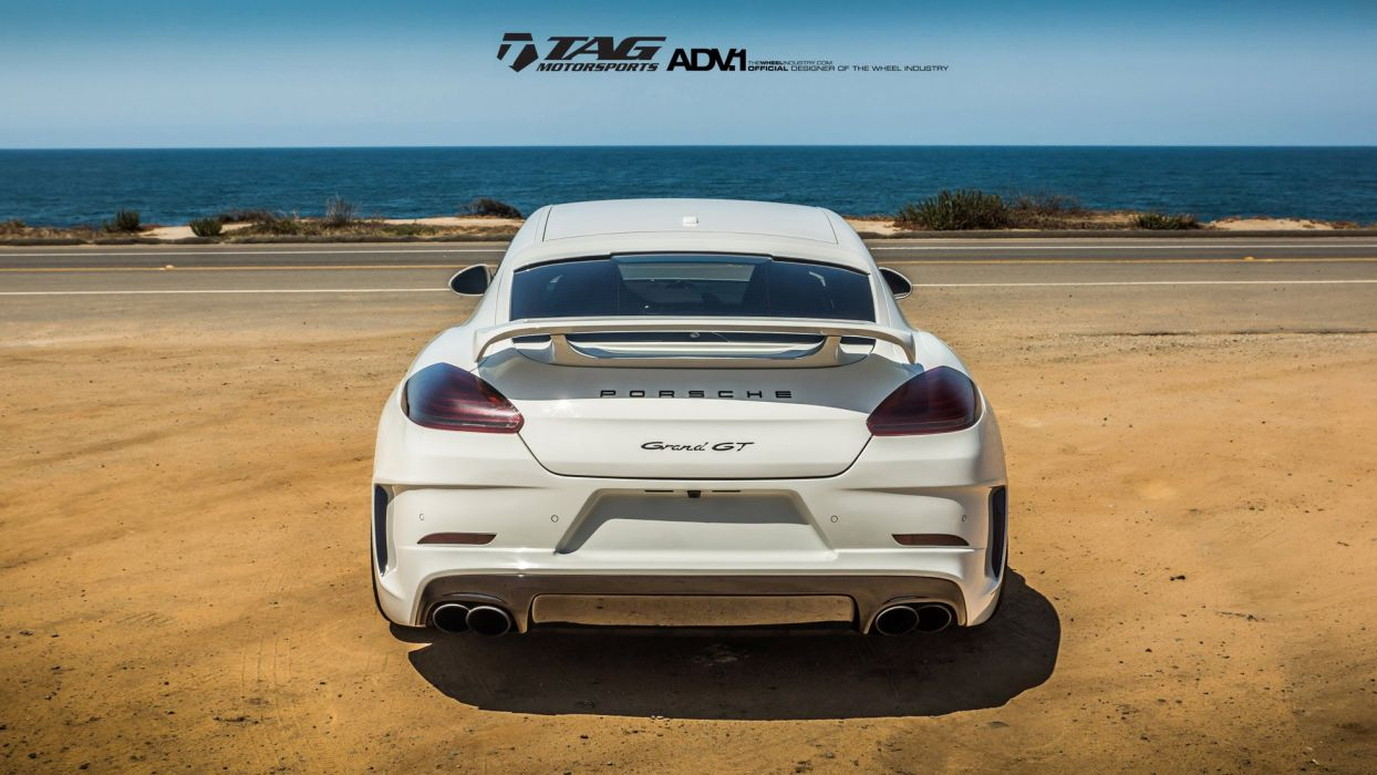 ADV 1 WHEELS GALLERY PORSCHE panamera bodykit white cars tuning wallpaper