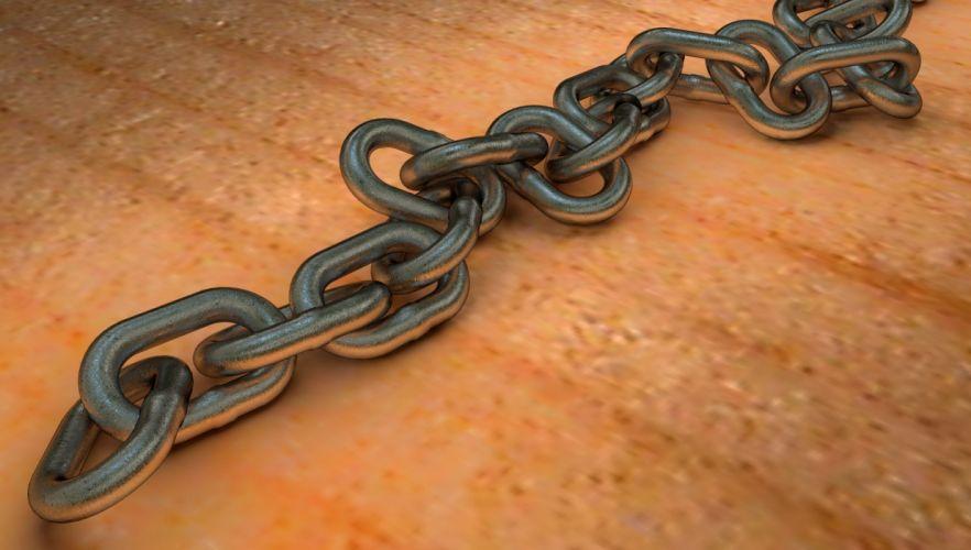 cadena hierro eslabones wallpaper