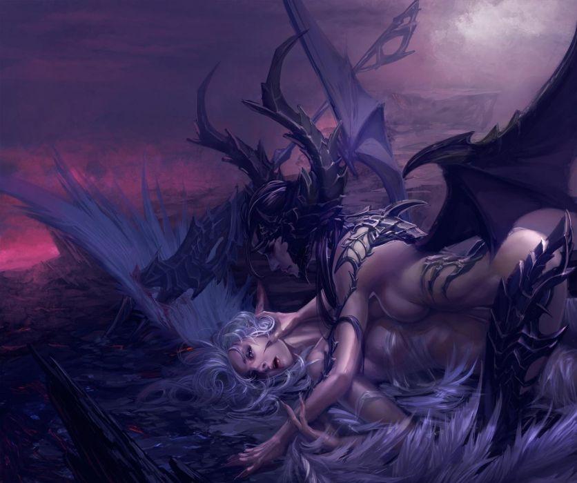 FEAR - girl women gothic romance fantasy wallpaper
