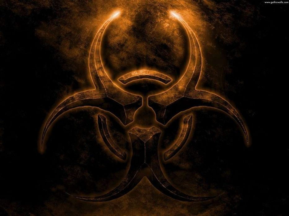 FEAR - gothic biohazard dark wallpaper