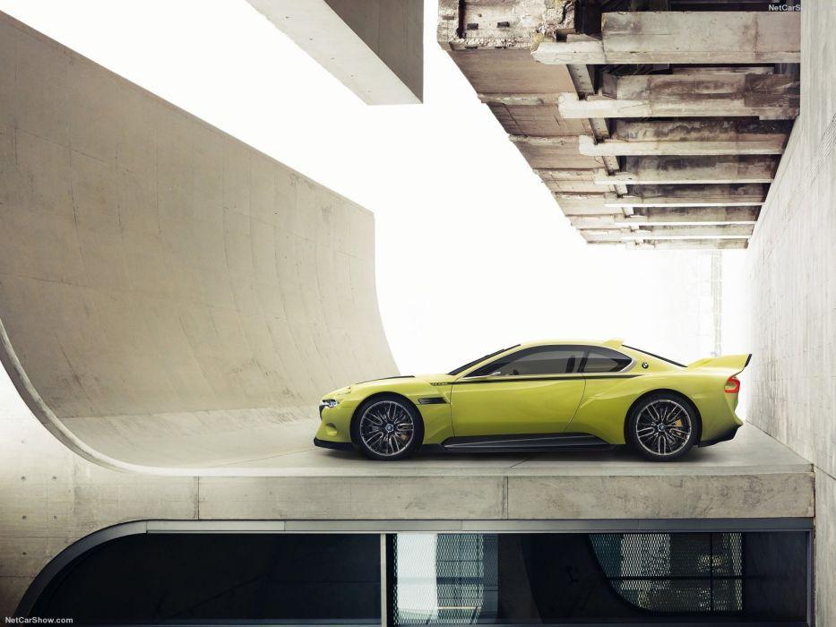 BMW 3 0-CSL Hommage Concept cars 2015 wallpaper
