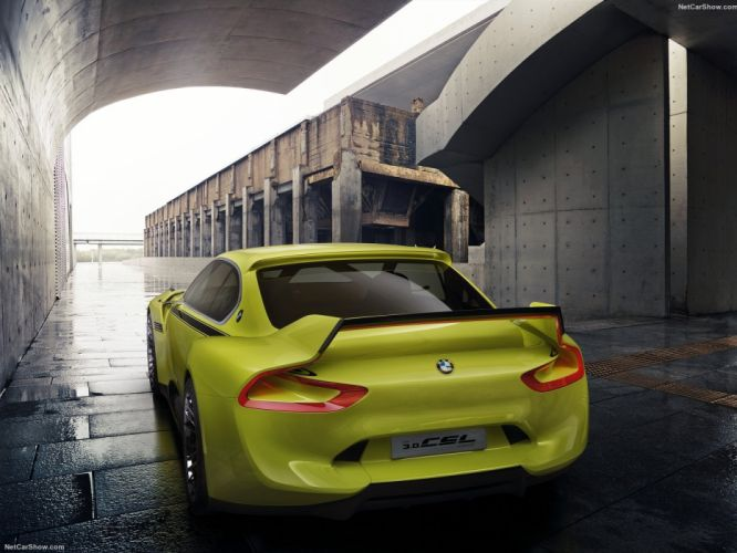 BMW 3 0-CSL Hommage Concept cars 2015 wallpaper