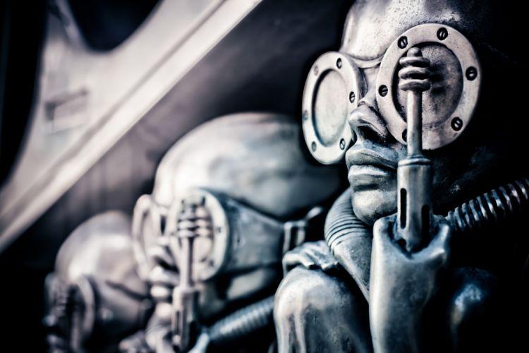H R GIGER art artwork dark evil artistic horror fantasy sci-fi wallpaper