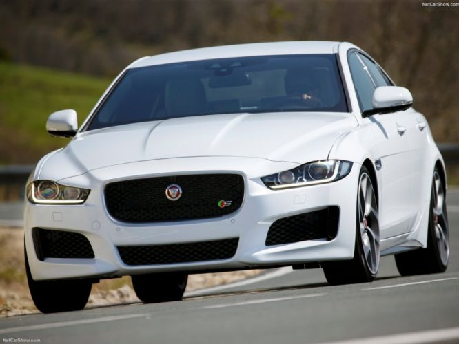 2016 cars jaguar saloon sedan sports wallpaper