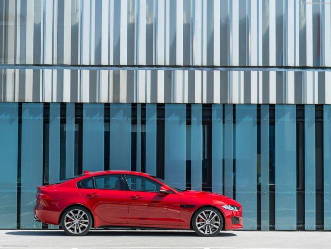 2016 cars jaguar saloon sedan sports wallpaper
