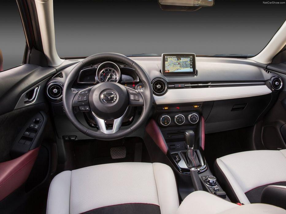 2016 cars CX-3 Mazda suv red wallpaper