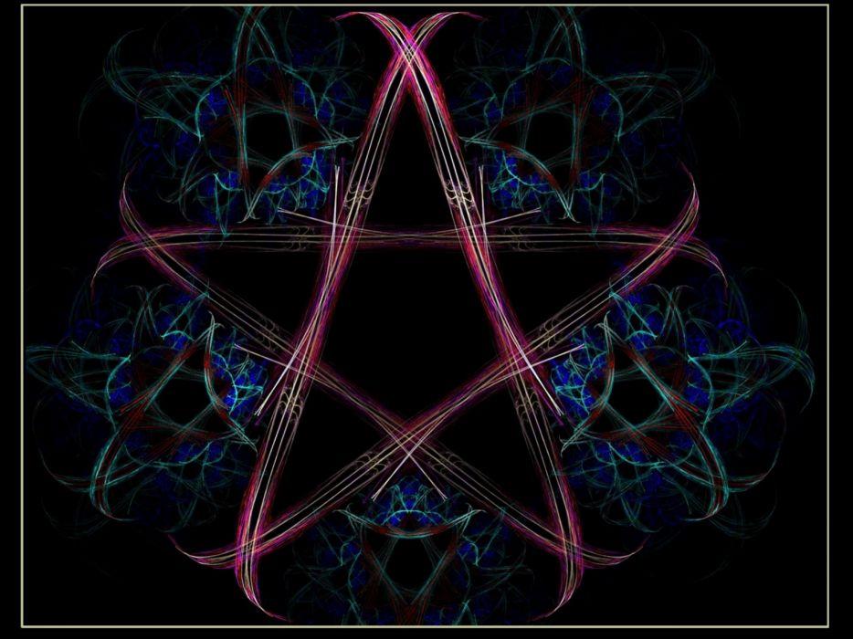 Dark evil occult witch wicca wiccan
