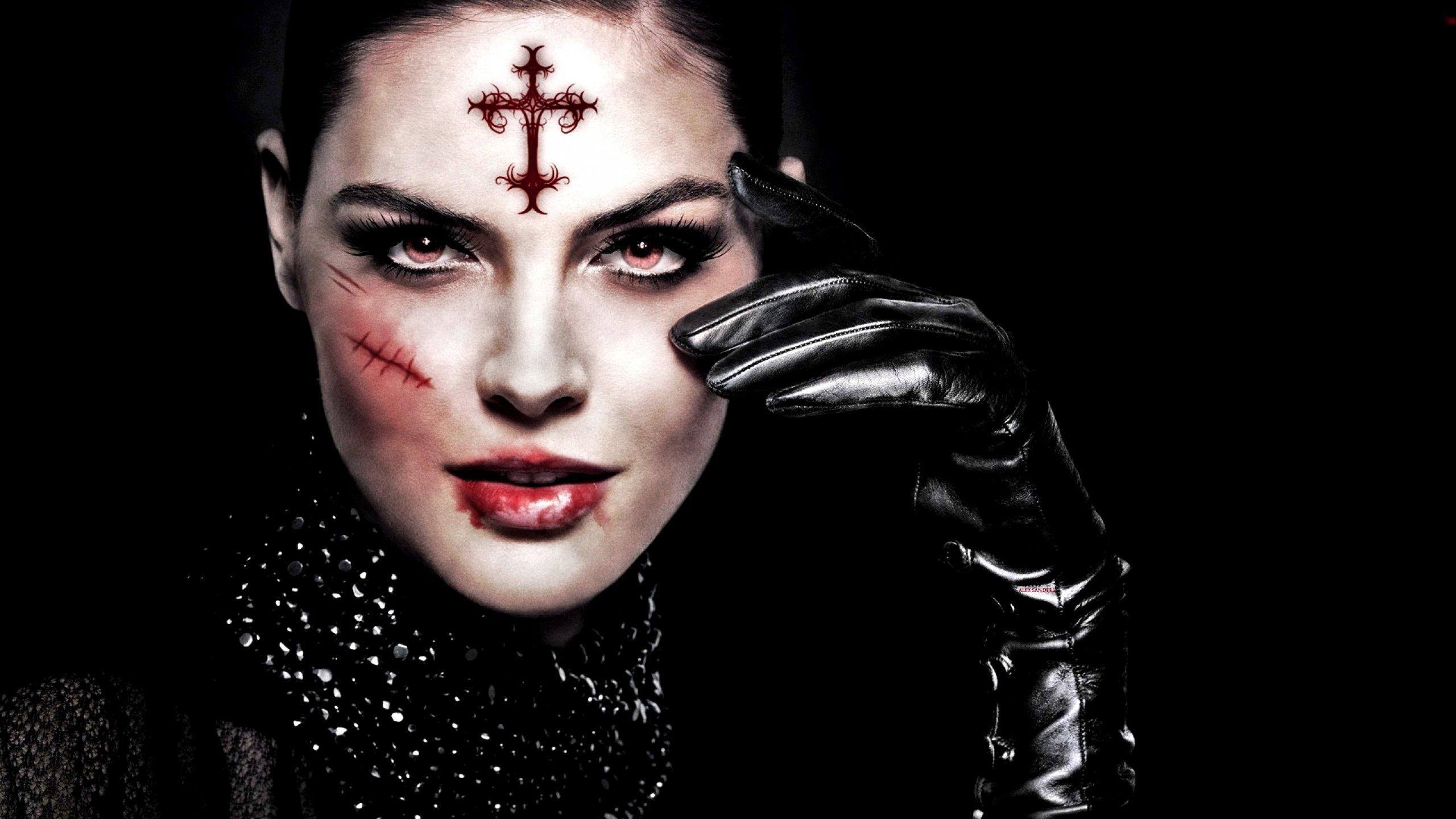 Dark evil occult satanic satan vampire wallpaper ...