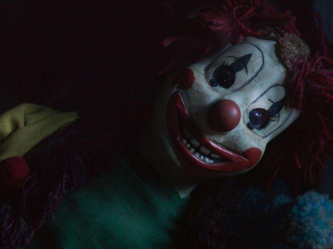 POLTERGEIST horror dark thriller scary creepy evil clown wallpaper