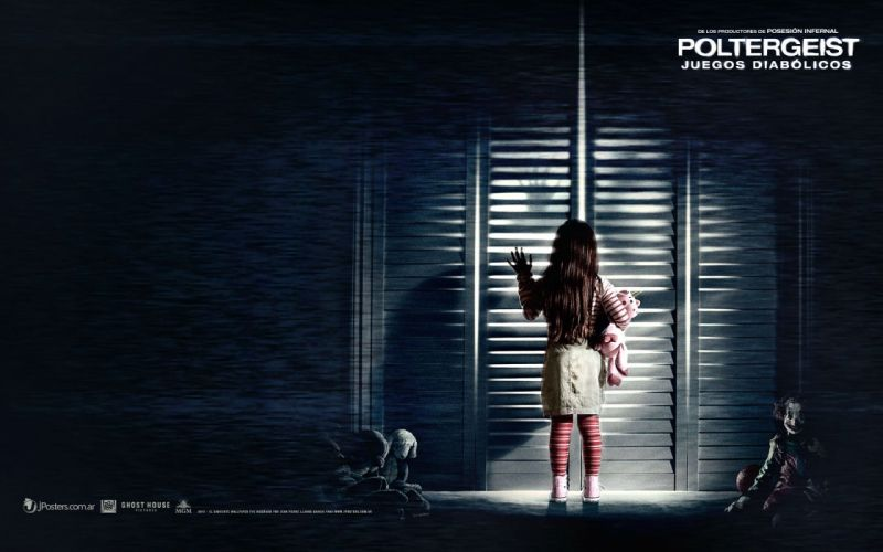 POLTERGEIST horror dark thriller scary creepy evil poster wallpaper