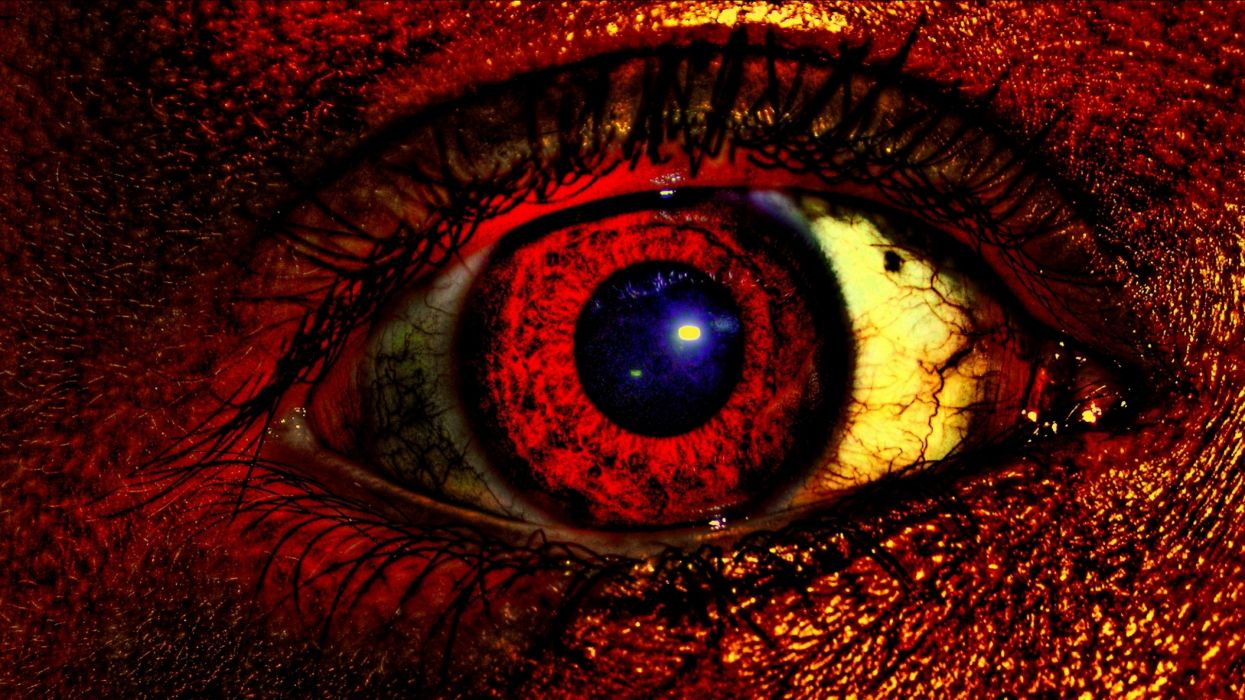 dark evil occult satanic satan demon eye eyes wallpaper