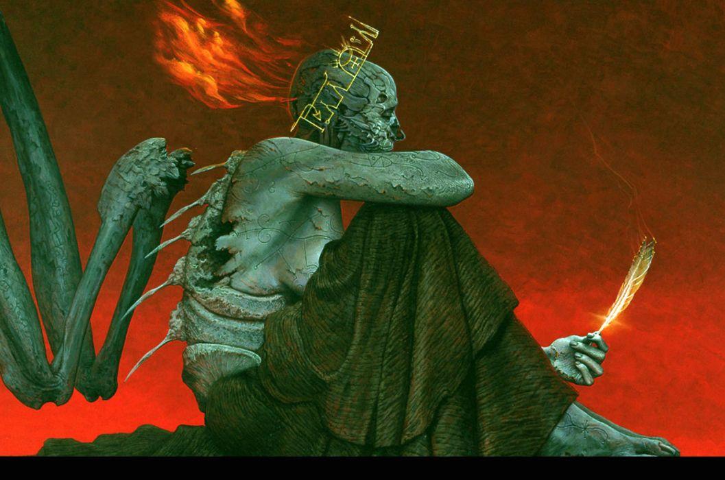 dark evil occult satanic satan demon wallpaper