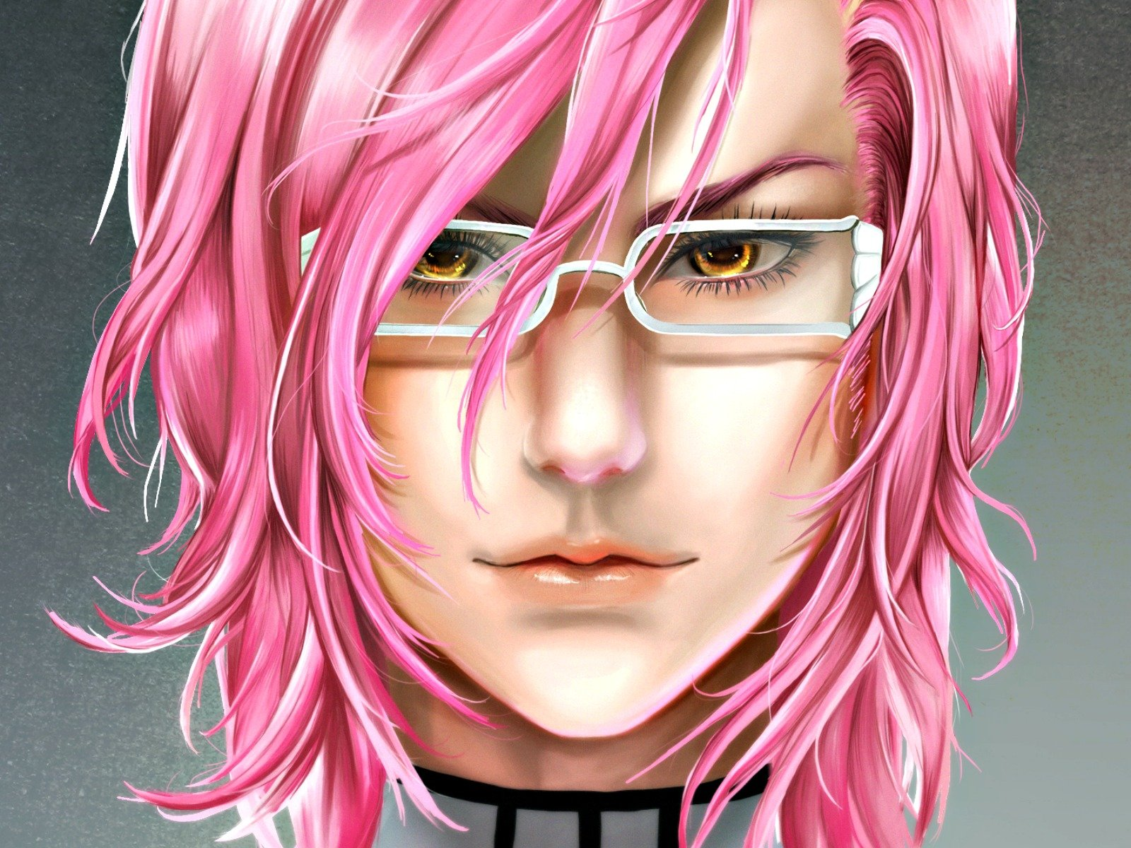 Anime Characters Pink Hair : Anime character bleach pink hair wallpaper