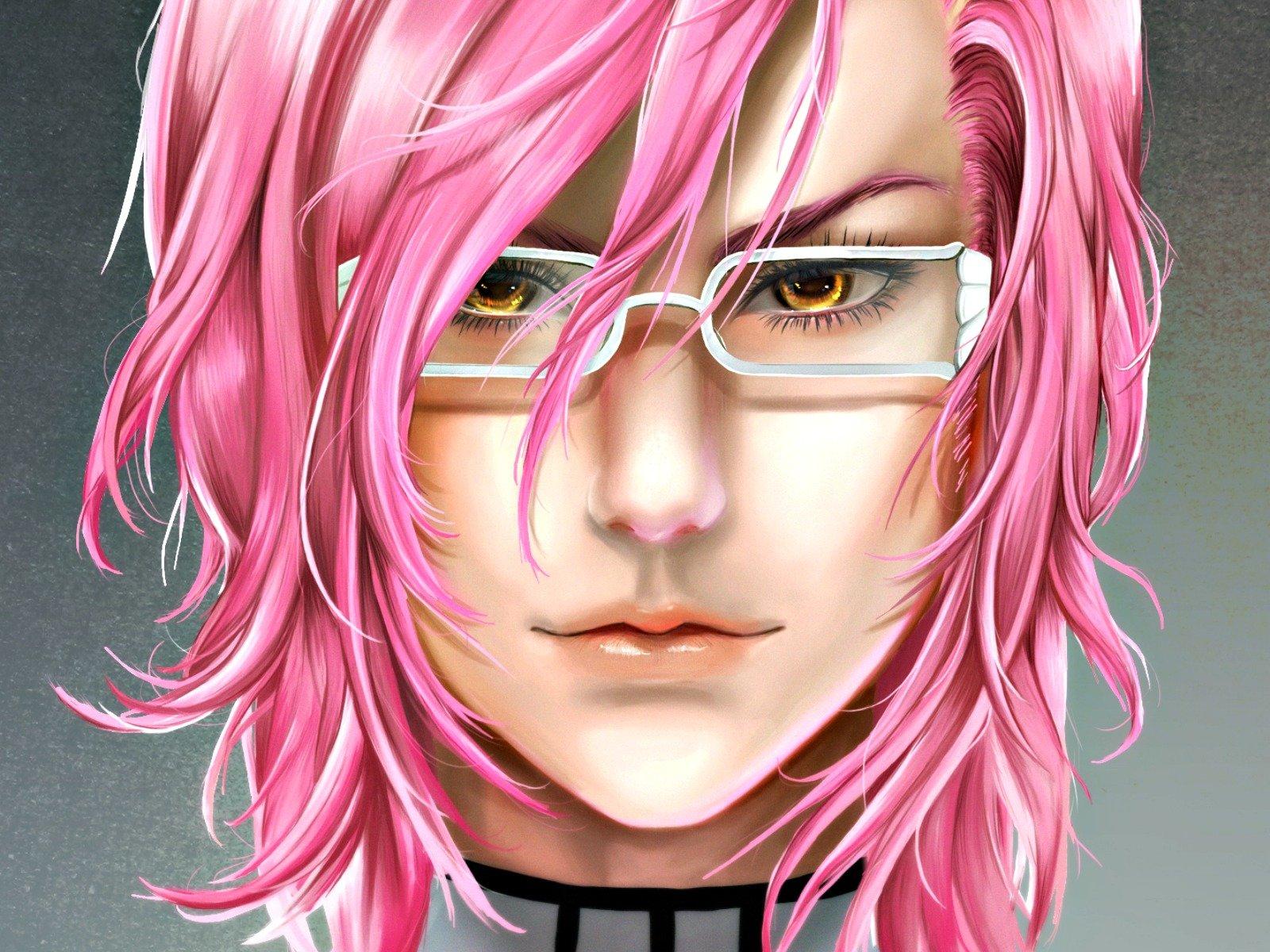 Anime character bleach pink hair wallpaper 1600x1200 696264 wallpaperup