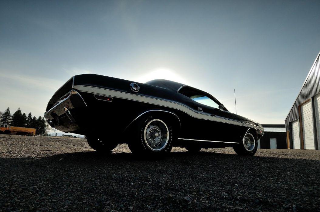 T 440 Six Pack muscle cars classic black wallpaper