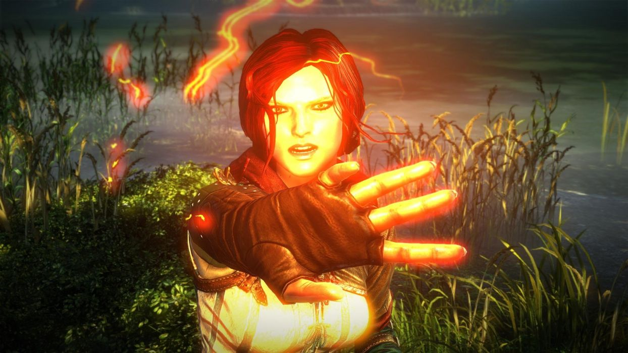 The Witcher 2 Assassins of Kings Triss Merigold wallpaper