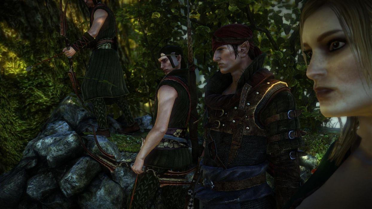 The Witcher 2 Assassins of Kings Iorweth Elfs wallpaper