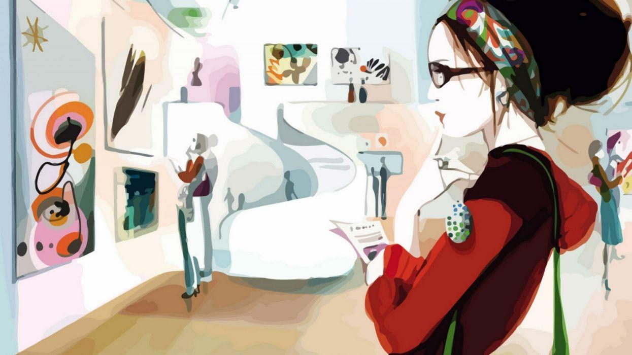 art artwork artistic women woman girl girls female f wallpaper
