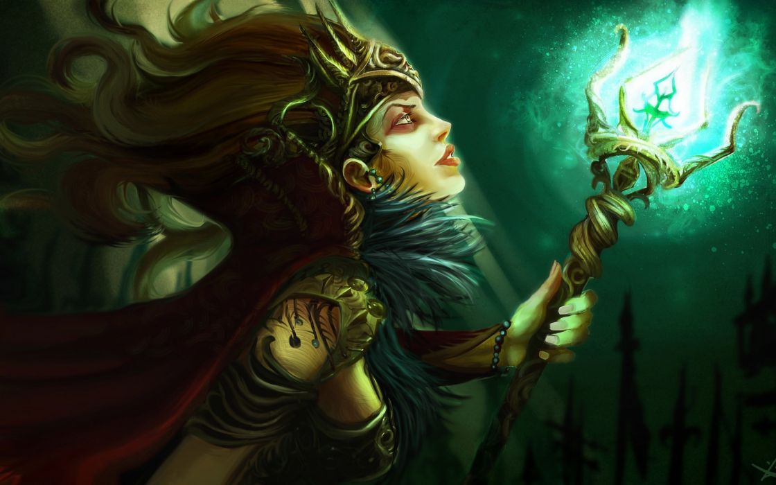 witch fantasy occult dark art artwork magic wizard mage sorcerer women woman girls girl female wallpaper