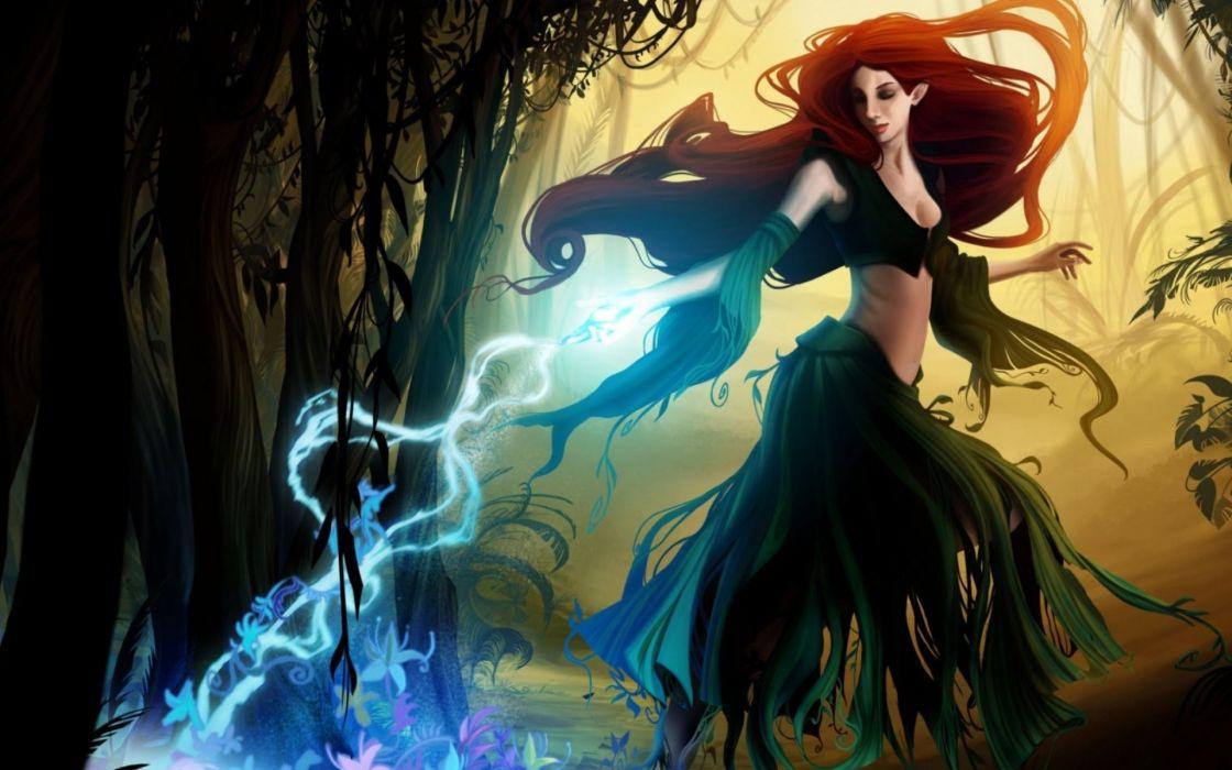 witch fantasy occult dark art artwork magic wizard mage sorcerer women woman girls girl female wallpaper