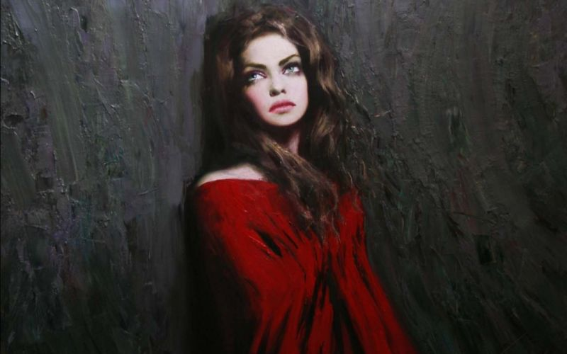 artistic art artwork girl girls woman women f mila kunis wallpaper