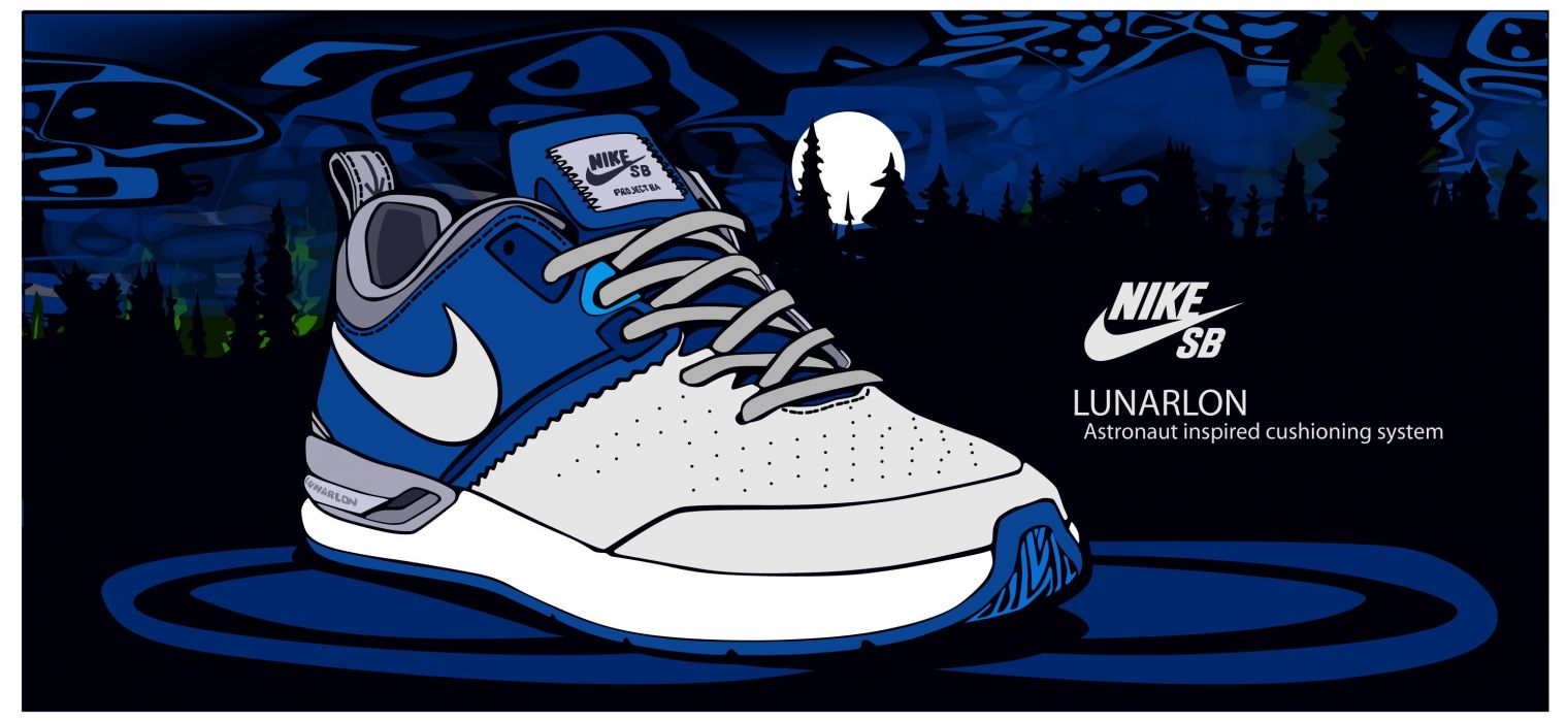NIKE sports shoes product logo poster advertising products 1nike g wallpaper