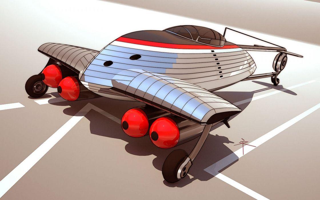 sci-fi art artwork spaceship airplane aircraft futuristic military technics fighter jet f wallpaper