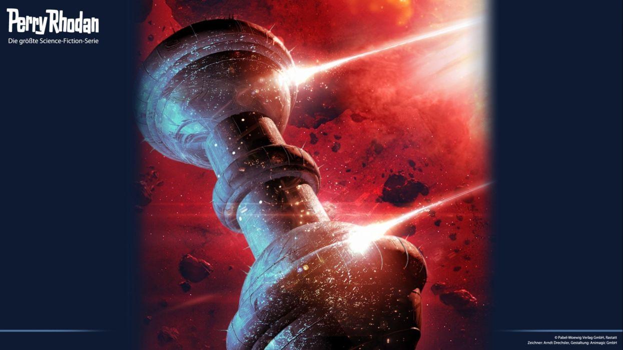 PERRY RHODAN Andromeda art artwork sci-fi futuristic science fiction g wallpaper