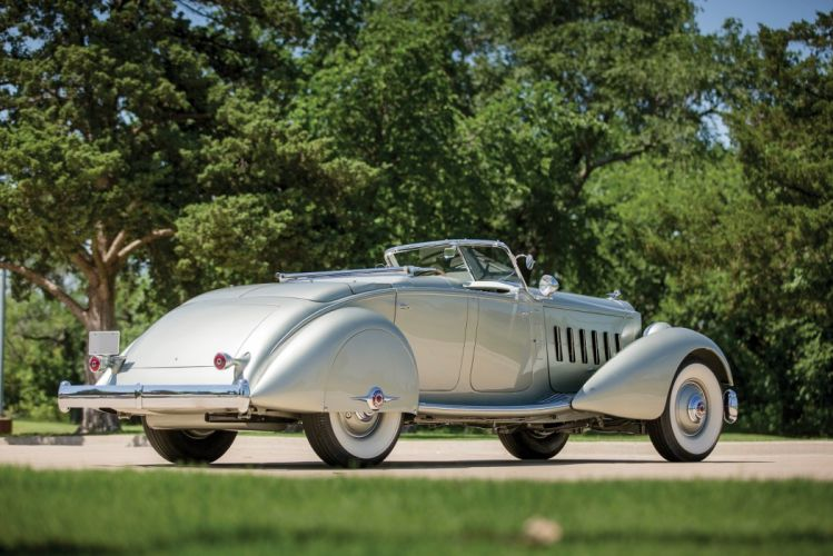 1934 Packard Twelve LeBaron Dual Cowl Sport Phaeton convertible classic cars wallpaper