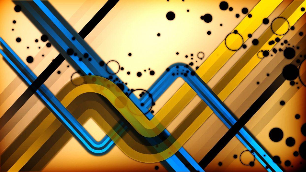 abstracto colorista wallpaper