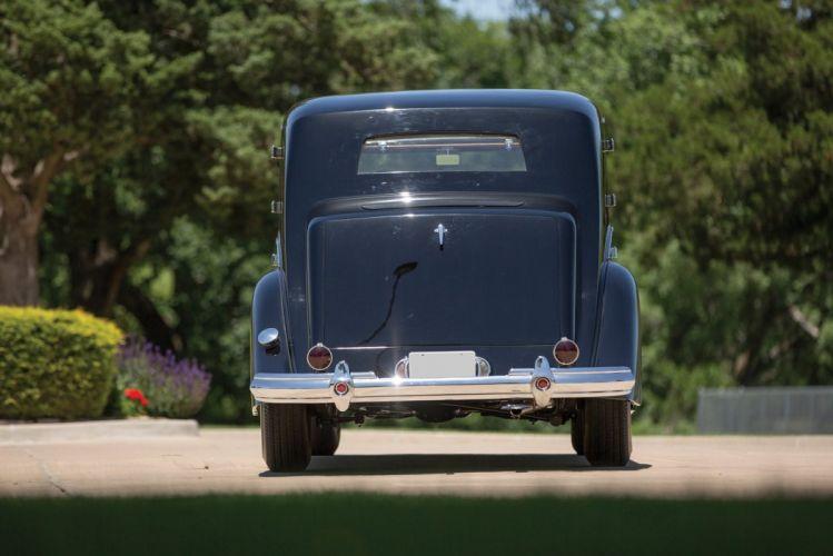 1938 Packard Super Eight Sedanca de-Ville Barker classic cars wallpaper