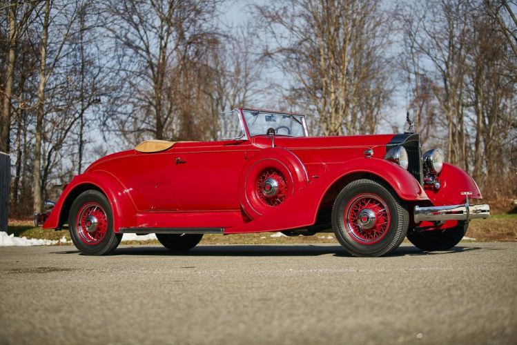 1934 Packard Eight Coupe Roadster classic cars wallpaper