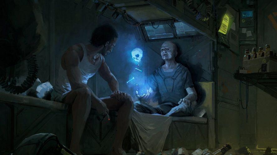 sci-fi fantasy art artwork science fiction futuristic original adventure a wallpaper