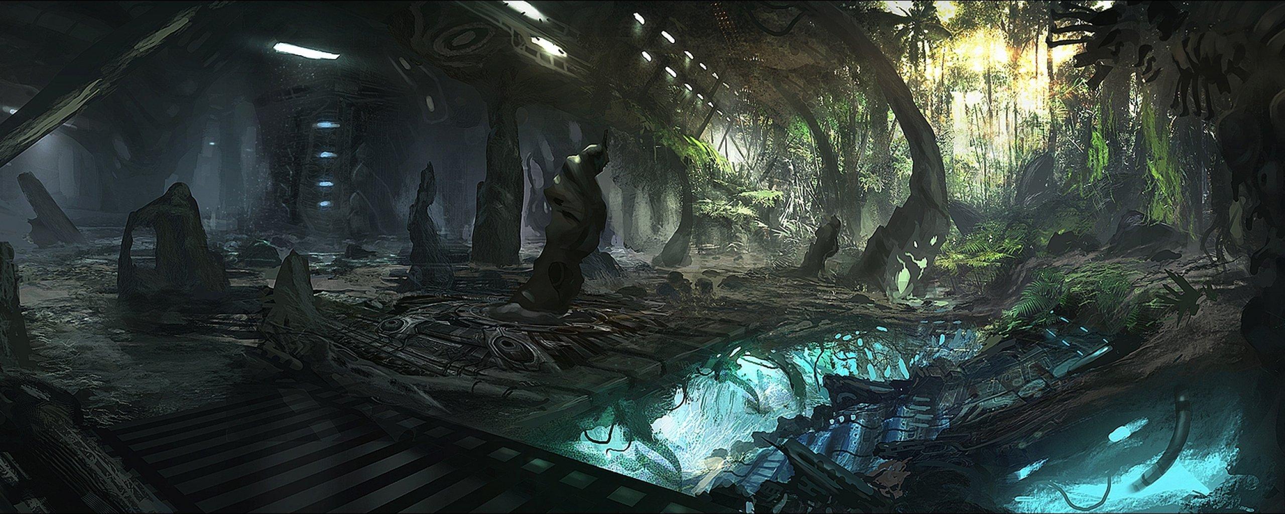 alien landscapes fantasy - HD2000×963