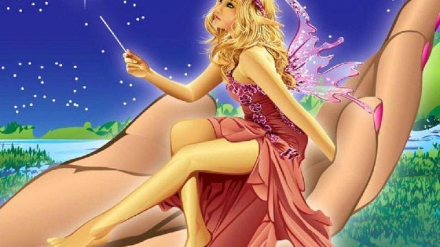 ARTS - hands fairy stars fantasy love wallpaper