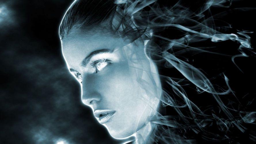 FACES - ghost women girls wallpaper