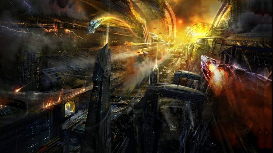 sci-fi fantasy art artwork science fiction futuristic original adventure fantasy wallpaper