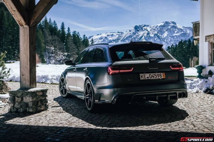 2015 Abt Audi Rs6 R Wagon Cars Black Matt Modified